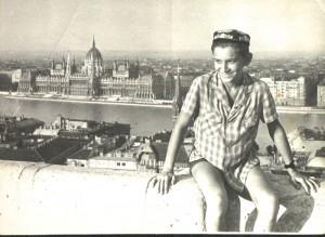 Будапешт, Рыбацкий бастион.1963 год.