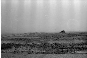 Отсыпка насыпи из резерва бульдозером Д-687