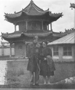 Экскурсия в музей Чойжин ламы с Ариуной. 1983 год, Улан Батор.