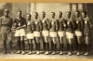 """Тюменское """"Динамо"""". Снимок 1927 года."""