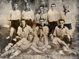 """Футбольная команда """"Совторговля"""" Тюмень. 1923? год."""