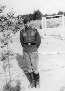 Кандидат, а ещё не курсант, Лелеко. Луга, 1967 год.