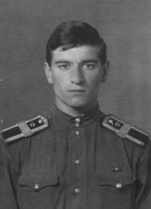 Заместитель командира курсантского взвода старший сержант Лелеко. 1070 год.