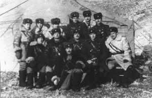 Опергруппа нашего батальона на учениях под Улан-Батором. Зима 1985 года.