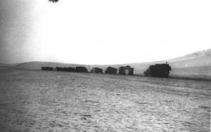 Колонна батальона совершает не 500-километровый, а 900-километровый марш из Улан-Батора в Дорнод.