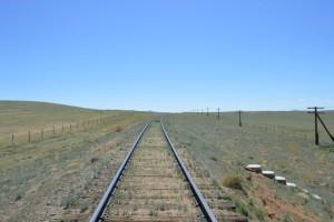 Железная дорога Хар-Айраг - Борундур сегодня. Лето 2015 года. Фото молодого друга Цагандая.