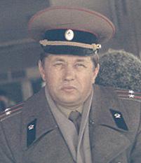 Командир 17 ЖДБр подполковник В.М. Мителёв. Царствие Небесное...