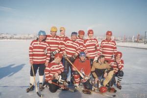 Ветераны Русского хоккея Тюмени