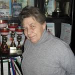 Ветеран конькобежного спорта Тюмени Людмила Минина. 2014 год.