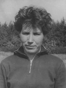 Чемпионка Тюменской области по конькобежному спорту 1960-1964 годов Людмила Минина.