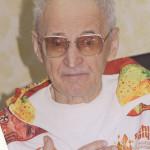 Заслуженный тренер СССР Б.А. Мишатин. 2014 год.
