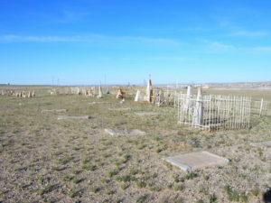 Кладбище воинов железнодорожных войск в Сайн-Шанде сегодня.